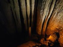 Viaje de la cueva de Kentucky los E.E.U.U. de las cuevas del mamut Fotos de archivo