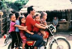 Viaje de la familia Fotografía de archivo