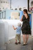 Viaje de la familia a Europa Fotografía de archivo libre de regalías