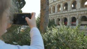 Viaje de la familia a Europa almacen de video