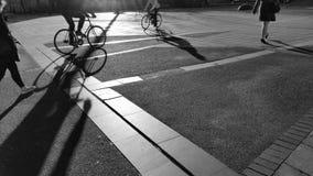 Viaje de la mañana Fotografía de archivo