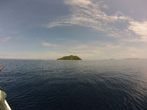 Viaje de la navegación a través del Océano Índico fotos de archivo libres de regalías