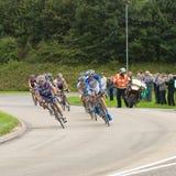 Viaje de la raza 2008 del ciclo de Gran Bretaña - etapa 4 Fotografía de archivo