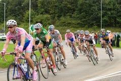Viaje de la raza 2008 del ciclo de Gran Bretaña - etapa 4 Imagen de archivo libre de regalías