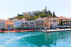 Viaje de la travesía de la isla del Hydra - islas de Grecia Imagen de archivo libre de regalías