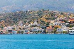 Viaje de la travesía de la isla del Hydra - islas de Grecia Fotografía de archivo