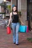 Viaje de las compras Imagenes de archivo
