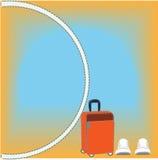 Viaje de las vacaciones ilustración del vector