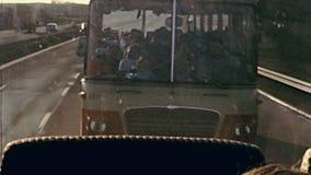 Viaje de Londres en autob?s almacen de metraje de vídeo