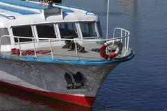 Viaje de los barcos de cruceros del arco Foto de archivo