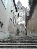 Viaje de los blois de Francia de la calle foto de archivo libre de regalías