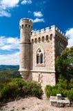Viaje de Magdala en la opinión de la vertical de Rennes le Chateau Imagenes de archivo