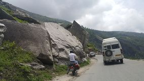 Viaje de Manali imagenes de archivo
