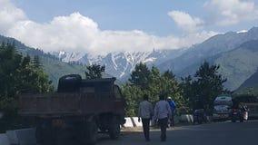 Viaje de Manali fotografía de archivo libre de regalías