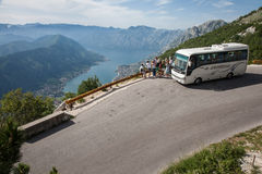 Viaje de Montenegro Foto de archivo