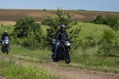 Viaje de Moto Fotografía de archivo libre de regalías