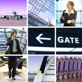 Viaje de negocios Imagen de archivo libre de regalías