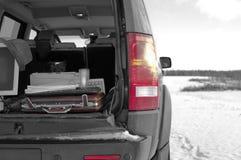 Viaje de negocios en coche Fotografía de archivo