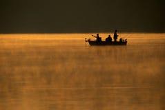 Viaje de pesca Fotos de archivo libres de regalías
