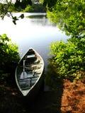 Viaje de pesca de la tarde Imagen de archivo libre de regalías