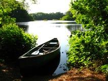 Viaje de pesca de la tarde Fotografía de archivo libre de regalías