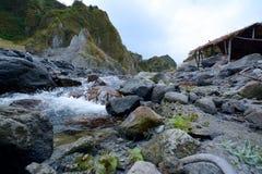 Viaje de Pinatubo Foto de archivo libre de regalías