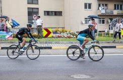 Viaje de Pologne 2014 de la raza de ciclo Imagen de archivo