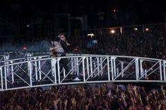 Viaje de U2 360° - viva en Turín Imágenes de archivo libres de regalías