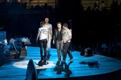 Viaje de U2 360° - viva en Turín Imagen de archivo libre de regalías