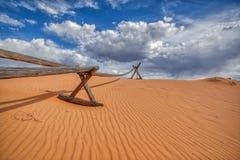 Viaje de Utah del parque de Coral Pink Sand Dunes State imagenes de archivo