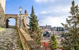 Viaje de Verucchio - de Rímini - de Emilia Romagna - de Italia fotografía de archivo