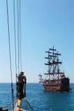 Viaje del barco Imagen de archivo libre de regalías