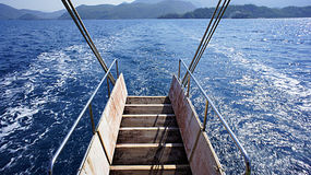 Viaje del barco Fotos de archivo libres de regalías
