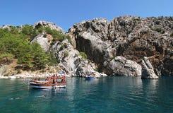 Viaje/Antalya del barco Foto de archivo libre de regalías