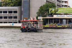Viaje del barco en el río Chao Phraya Imagen de archivo libre de regalías