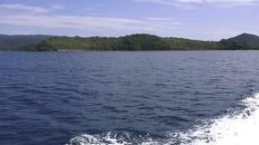 Viaje del barco a las islas tropicales, Tailandia metrajes