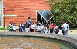 Viaje del campus del UCLA Imágenes de archivo libres de regalías