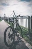 Viaje del día de la bici Imagenes de archivo