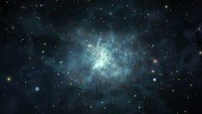 Viaje del espacio profundo ilustración del vector