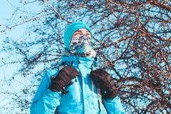 Viaje del invierno Fotografía de archivo