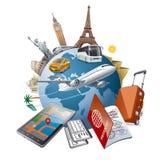 Viaje del mundo Imagen de archivo libre de regalías