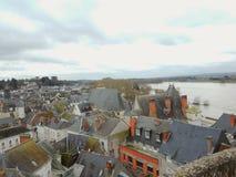 Viaje del paisaje de Amboise Francia foto de archivo