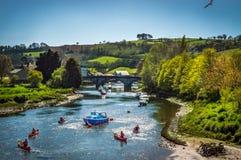 Viaje del río Fotografía de archivo libre de regalías