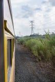 Viaje del tren en Panamá Imagenes de archivo