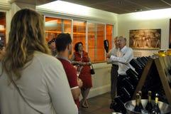 Viaje del viñedo en Domaine Carneros, Napa Valley Fotos de archivo libres de regalías