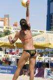 Viaje del voleibol de Akers AVP Crocs Imágenes de archivo libres de regalías