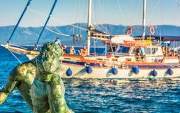 Viaje diario en la isla de Brac, Croacia Foto de archivo libre de regalías
