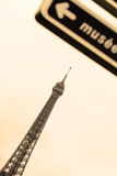 Viaje a Eiffel Fotografía de archivo libre de regalías