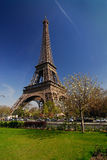 Viaje Eiffel de París Imagen de archivo libre de regalías