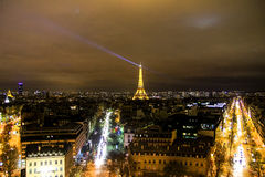 Viaje Eiffel del La Imagenes de archivo